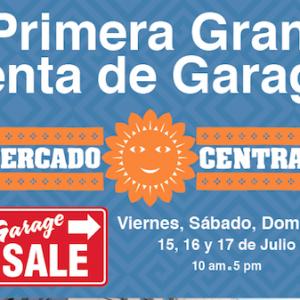 GRAN VENTA DE GARAGE EN MERCADO CENTRAL