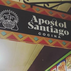 "Visit our newest restaurant ""Apóstol Santiago Cocina"""